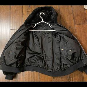 Zara reversible coat, Size L